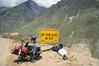 Descending Rohtang Pass (Niall Corbet) Tags: india himachalpradesh himalaya himalayas manali ley ladakh rohtang rohtangla rohtangpass cycle bicycle bike tour touring mountain