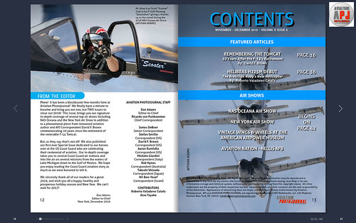 Aviation Photojournal November - December 2016