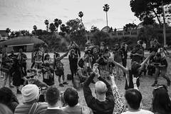 No Pants (CHENN HUANG) Tags: losangeles leica lifestyle life california santamonica usa bw blackwhite documentary photographery downtown metro subway nopants winter people happy smile