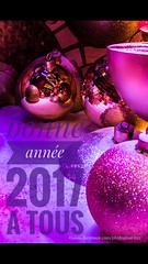 bonne annee 2017 (David-photopixel-bzz) Tags: nouvelan happynewyear décoration décembre janvier canon canon70d sigma boules violet