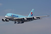 HL7614 Airbus A380-861 KLAX.27-09-15 (MarkP51) Tags: hl7614 airbus a380861 a380 koreanair ke kal losangeles international airport lax klax california aviation airliner aircraft airplane plane image markp51 nikon d7100 aviationphotography