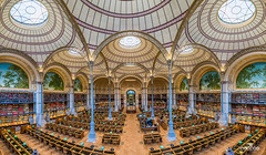 Labrouste (brenac photography) Tags: europe inha bibioltaken bnf book books brenac brenacphotography cicliotheque d810 france knowledge labrouste library livres nikon nikond810 paris richelieu study wow îledefrance fr hdr oloneo pano panorama samyang