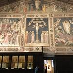 Crucification, Cappela Medici 'del Noviziato', Basilica di Santa Croce, Florence, Italy. thumbnail