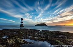 Sunrise, Trwyn Du Lighthouse (SarahO44) Tags: penmon point anglesey wales uk united kingdom sunrise rwyn du lighthouse canon 6d lee big stopper long exposure conwy bay puffin island