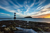 Sunrise, Trwyn Du Lighthouse (SarahO44) Tags: penmon point anglesey wales uk united kingdom sunrise rwyn du lighthouse canon 6d lee big stopper long exposure conwy bay puffin island