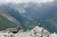 sitting over Geiranger (Stefan_Brinkmann) Tags: norwegen norway geiranger fjord urlaub