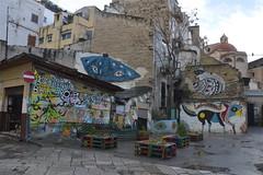 Ballarò: murales in piazzetta Ecce Omo (costagar51) Tags: palermo sicilia sicily italia italy arte storia ballarò anticando bellitalia
