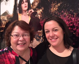 The Cuban Museum founding director Ileana Fuentes with daughter Carisa Perez-Fuentes at the Lowe Museum opening