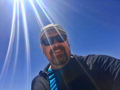 Sunny selfie. (david takes photos) Tags: losflamencosnationalreserve reservanacionallosflamencos salardetara tara atacama chile sanpedrodeatacama regióndeantofagasta x david