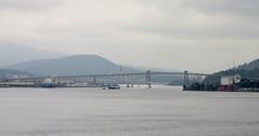 Vancouver's Ironworkers Memorial Bridge (Stabbur's Master) Tags: vancouver vancouverbc ironworkersmemorialbridge ironworkersmemorialsecondnarrowscrossing secondnarrowsbridge burrardinlet bc bridge steeltrusscantileverbridge famousbridges transcanadahighway