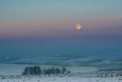 Moon (Mirek Pruchnicki) Tags: orły województwopodkarpackie polska moon evening winter