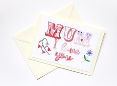 Mum I love you Mother's day handmade greeting card (roisin.grace) Tags: greetingcards greetingcard handmade handpainted handmadecards handpaintedcards happymothersday mothersday mothersdaycard lovecards lovecard
