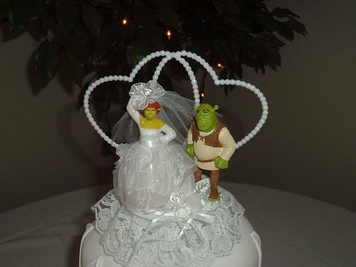 Shrek and Fiona Wedding Cake topper in Uncategorized Wedding Cake Toppers