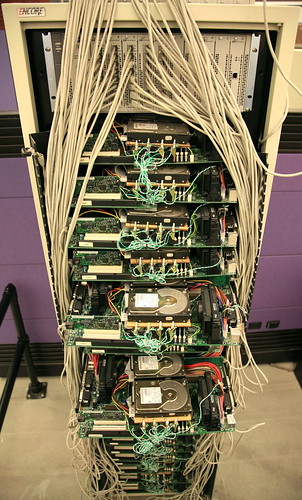 První fotografie Google Serveru