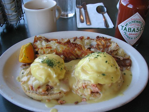 Northwest Eggs Benedict