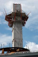Air Traffic Control (worldwidewebdomination) Tags: urban toronto construction nikond70s donotenter dundassquare
