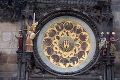 Prague Astronomical clock (kunkatica) Tags: clock czech prague astronomical