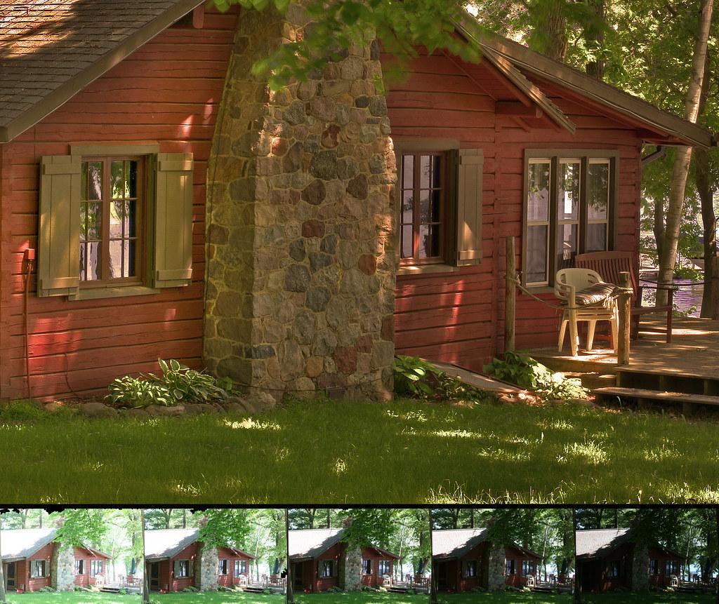 Cabin HDR Comparison