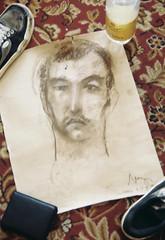 Babak's portrait by Iraida Markelova