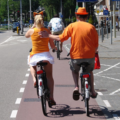 Orange Snapshot (Maxey) Tags: orange holland dutch bicycle fan football candid fifa soccer 2006 oops wk worldcup wm2006