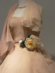 Silk organza cocktail dress by Christian Dior of Paris 1952 (mharrsch) Tags: ladies fashion utah dress saltlakecity gown dior apparel 20thcenturyce utahmuseumoffinearts mharrsch