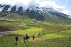 Castelluccio Hike 1 (Stephen P. Johnson) Tags: italy beautiful wow italia hiking explore umbria castelluccio sibillini vettore myexplore jun061001 amazingmountains