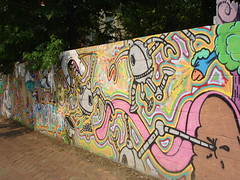 Hip Hop Mural (nohobot) Tags: home graffiti multicoloured
