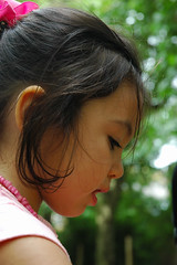 Alicia (TinaMurphy) Tags: summer cute hair child fayre marylebone concentrate