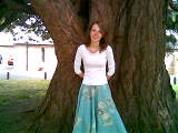 Heather and the tree (andymanjo) Tags: heather penfold