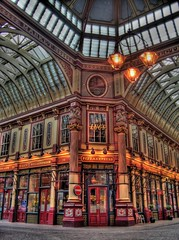 Leadenhall Market (el_cuckoo) Tags: uk inglaterra england london zoom market kodak united kingdom 100v10f londres hdr reino unido leadenhall elcuckoo leavasco photomatix cx7430 5xp kodakcx7430zoom 100655