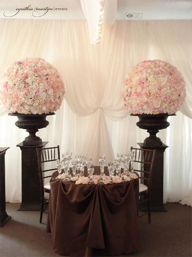 174269956 1ff2fae5a2 d Baú de ideias: Decoração de casamento rosa e marrom I