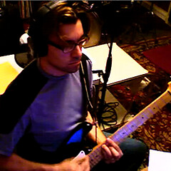 Derek Records With His Stratocaster