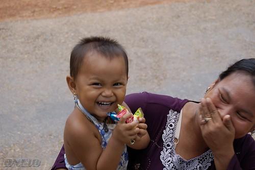 Angkor's Smile