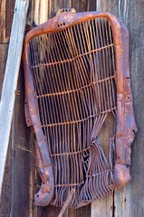 Spare Parts in Stock (ONE/MILLION) Tags: old travel arizona field crust gold town apache junk rust iron mine flickr fb antique engine rusty visit junction grill mining junkyard tours crusty facebook goldfield onemillion williestark