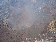 Cráter Santiago, Volcán Masaya (birdfarm) Tags: santiago cloud volcano smoke crater latinoamerica nicaragua humo centralamerica masaya volcán centroamerica cráter volcánmasaya crátersantiago