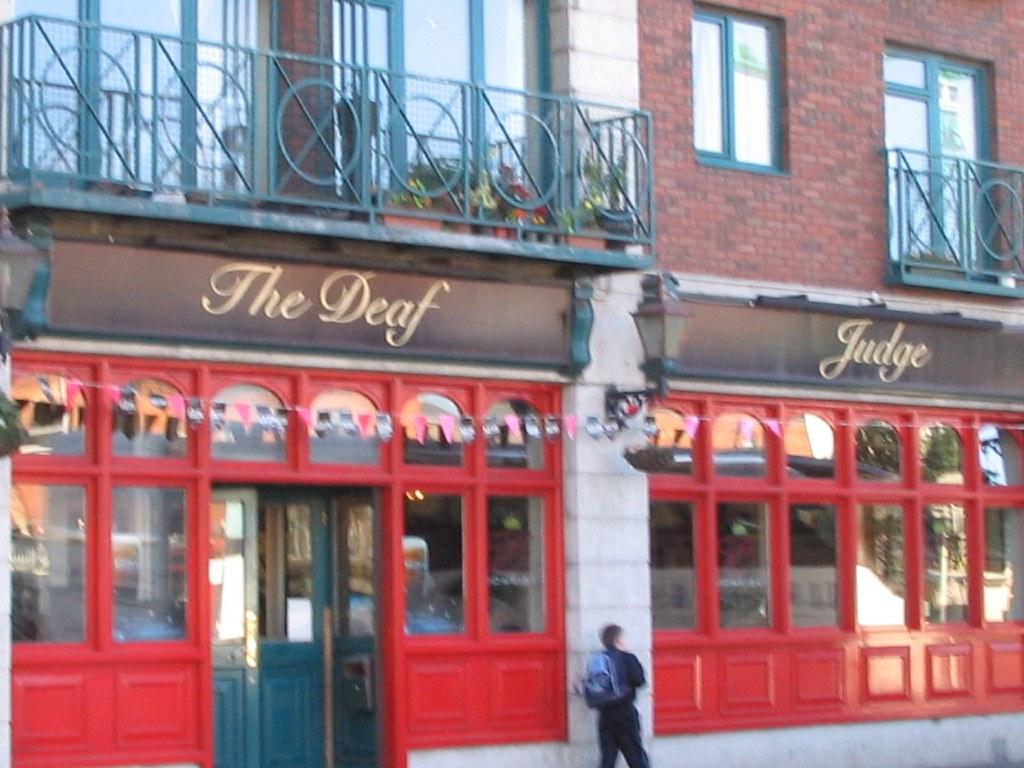The Deaf Judge Pub, Dublin