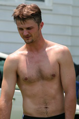 Luke (Tobyotter) Tags: shirtless man male guy chest luke youngman