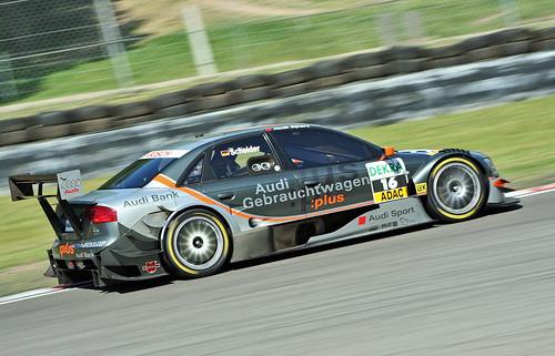 Timo Scheider Brands Hatch July 2006 Audi Sport Team Rosberg Audi A4 IMG 4834