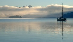 Winter Dawn, Queen Charlotte Sound - by Canterbury Heritage
