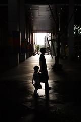 Silhouette (mrhayata) Tags: light shadow building silhouette japan geotagged tokyo blog child forum international 日本 東京 hibiya 東京国際フォーラム marunouchi yurakucho chiyoda シルエット 千代田区 東京都 有楽町 geo:lat=356766442 geo:lon=1397634425 mrhayata