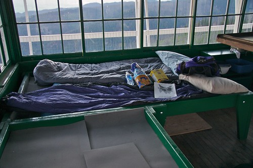 Beds at Gird Point Lookout Tower