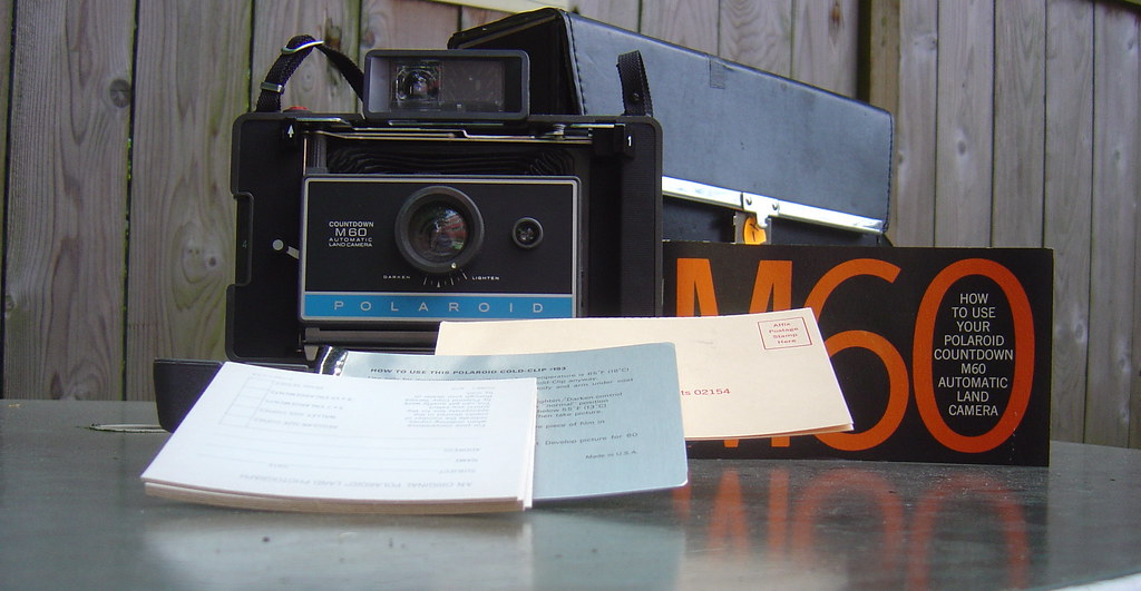 Polaroid M60 Land Camera & Accessories
