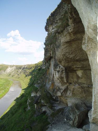 Cave monastery view
