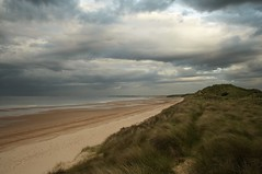 Beach to myself (Ray Byrne) Tags: sea beach water clouds canon wow landscape 350d coast dunes north northumberland shore alnmouth canon350d nationaltrust northeast landscapephotography raybyrne alnmouthdunes byrneout