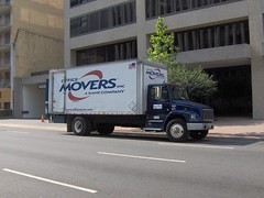 Moving Truck (erin_johnson) Tags: washingtondc office lastday move lawfirm dicksteinshapiro