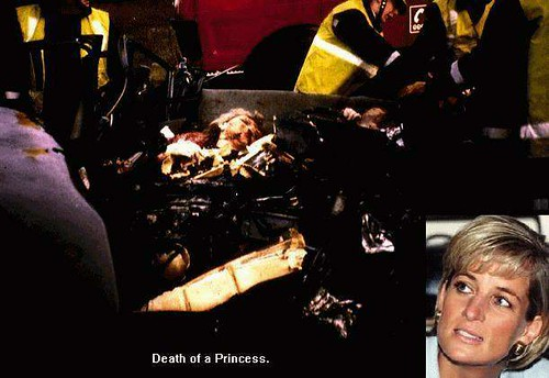 princess diana crash pics. Princess Diana Accident Photo