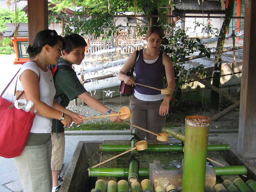 Ritual purification before entering the shrine | Flickr - Photo ...