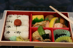 Bento in Shinkansen (( I was ) Lost in Tokyo) Tags: food japan dinner train japanese interestingness bento lunchbox shinkansen japon nozomi japonais 333v3f 222v2f 111v1f i500 betweennagoyaandtokyo