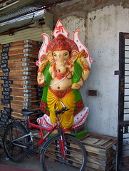 Ganesha's new vehicle (Sunaina Suneja) Tags: india spiritual