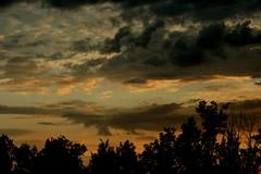 Empty threat (enjae) Tags: light sky sun rain minnesota clouds dark threatening 5hits